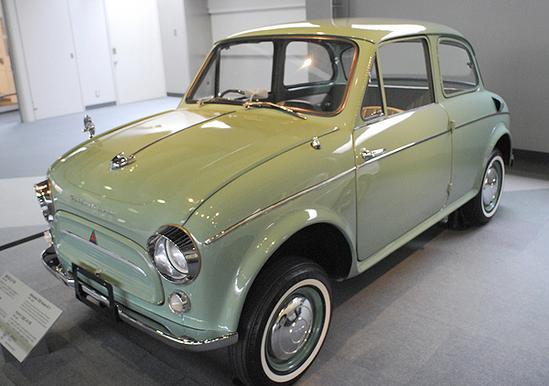 Primeros carros Mitsubishi