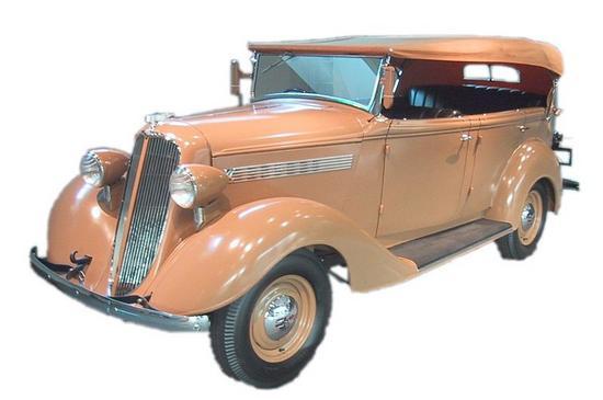Nissan Modelo Phaeton 70 1938.
