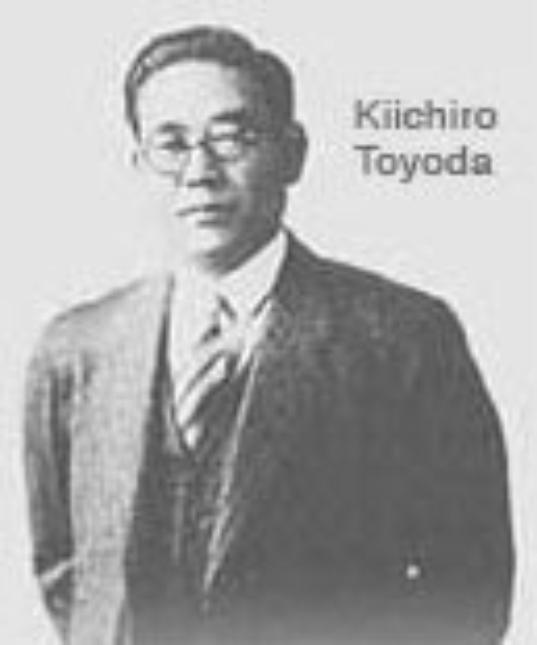 Toyota historia   Kiichiro Toyoda