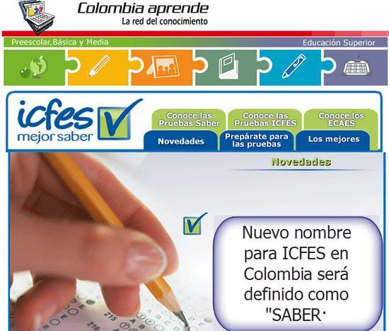 Saber nuevo nombre del ICFES