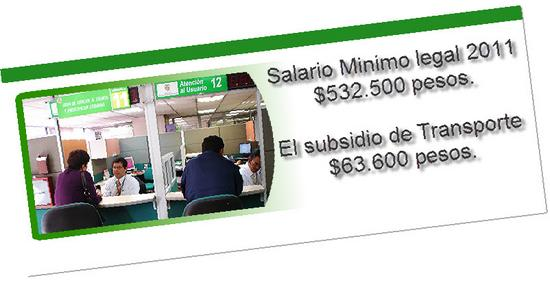 Salario minimo legal vigente