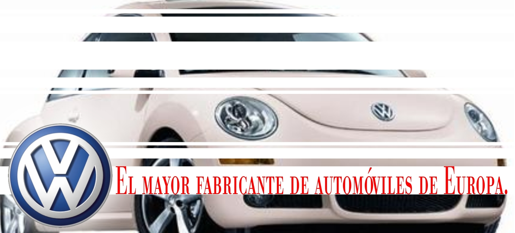 Volkswagen, El mayor fabricante de automóviles de Europa.