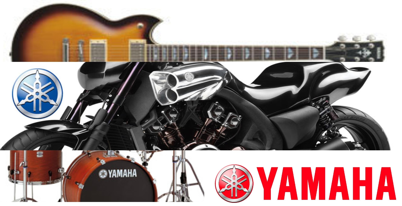 Yamaha, de instrumentos musicales a motocicletas.