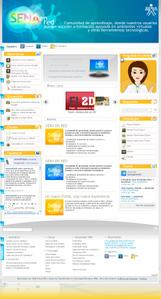 Vista de www.senaenred.edu.co | Pagina web o Home