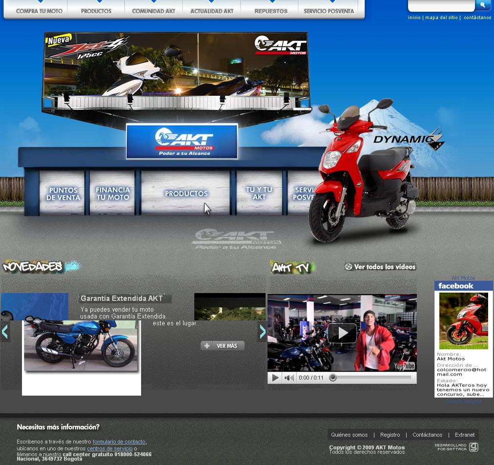 Pagina de motos