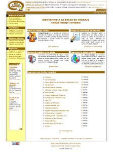 Vista de www.computrabajo.com.co | Pagina Web o Home