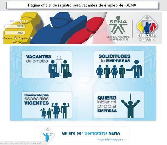 ofertas de empleo sena colombia 2011