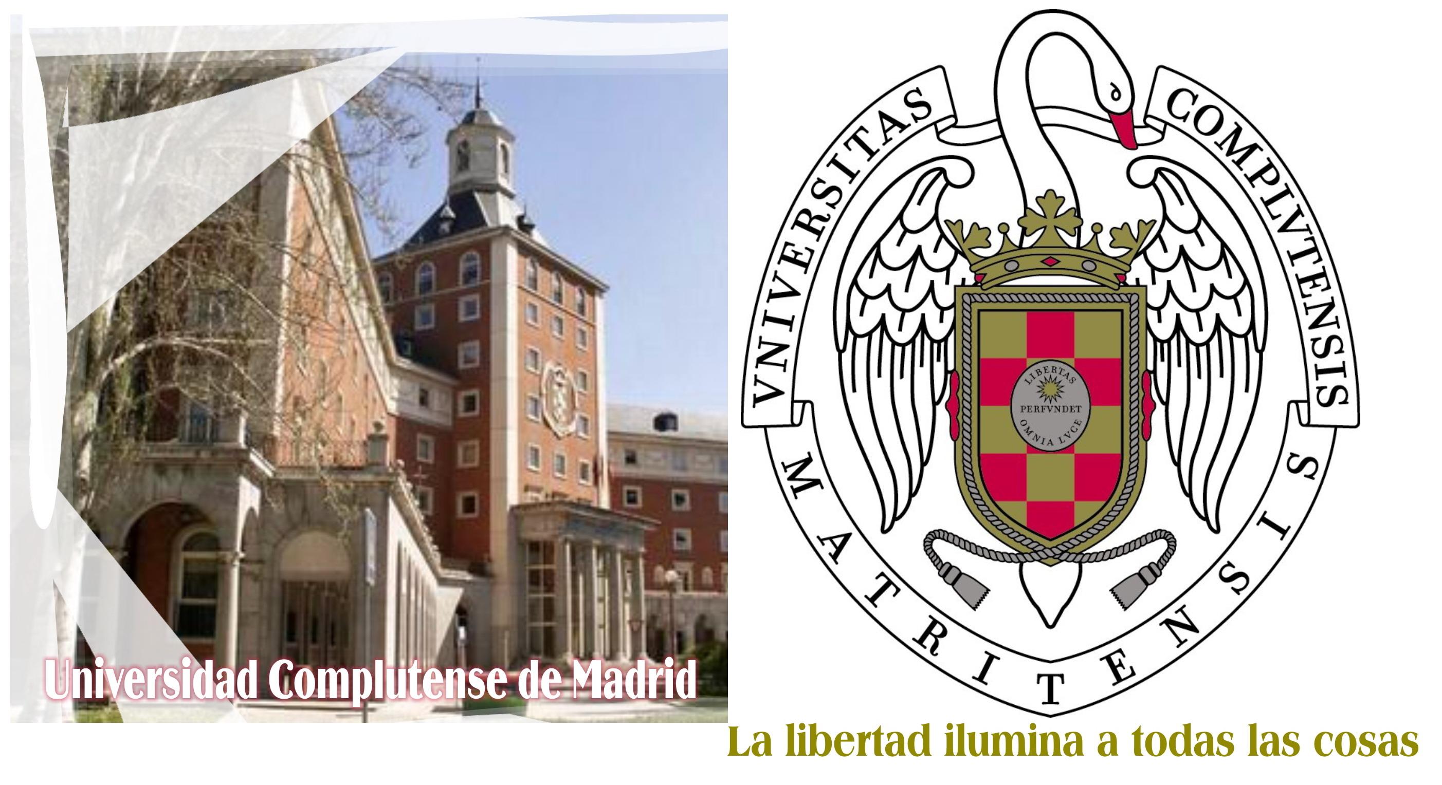 Universidad Complutense de Madrid, La libertad ilumina a todas las cosas