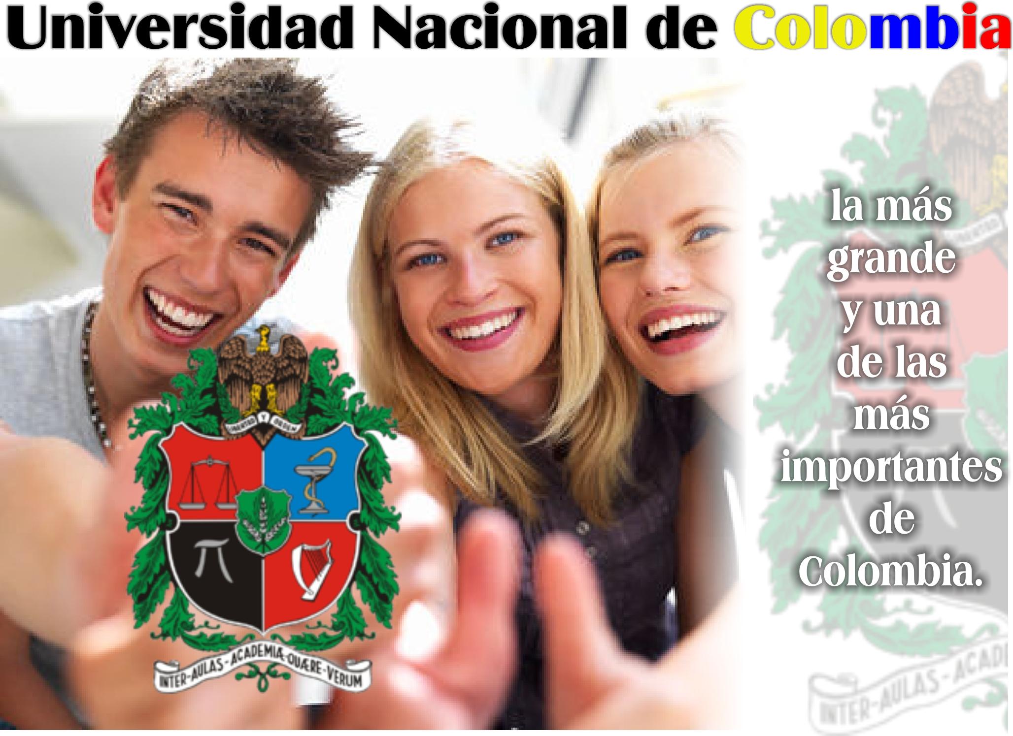 Universidad Nacional de Colombia, la más grande y una de las más importantes de Colombia.