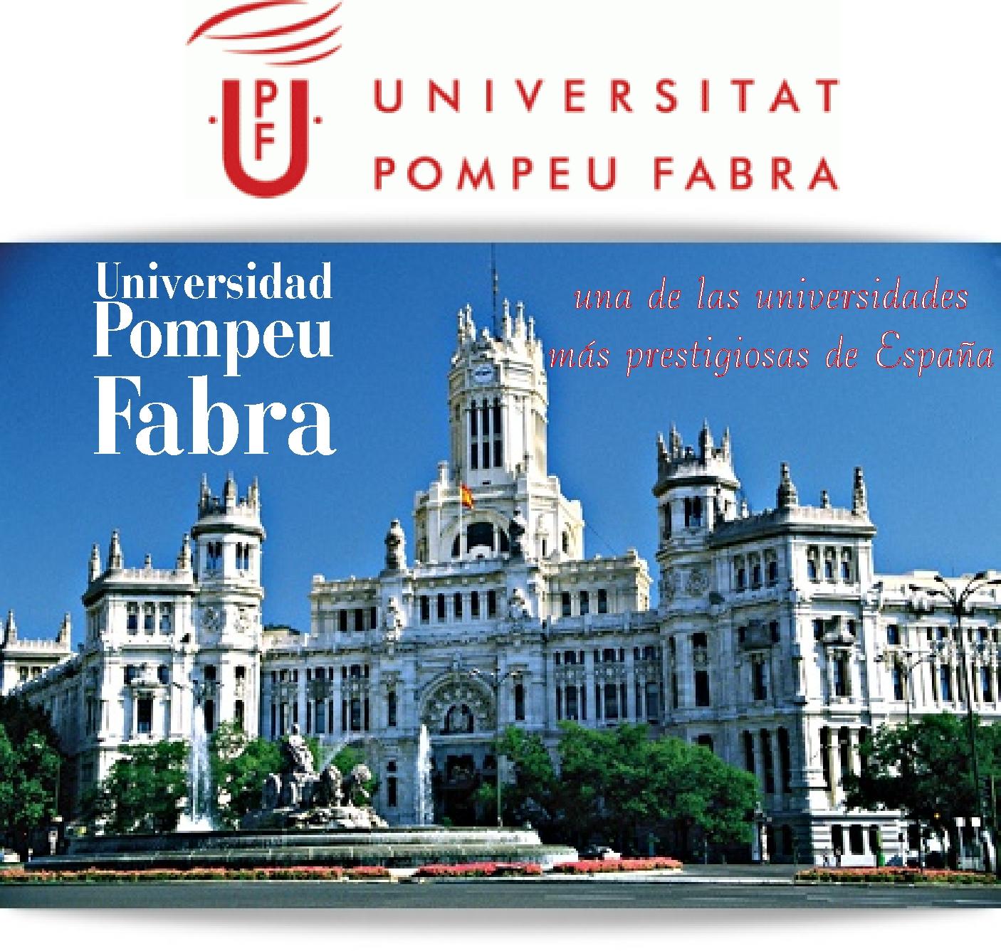 Universidad Pompeu Fabra, una de las universidades más prestigiosas de España