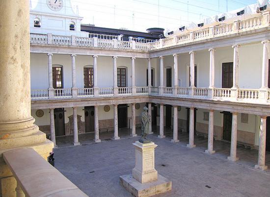 iversidad de Valencia, estudio General (calle la Nave)