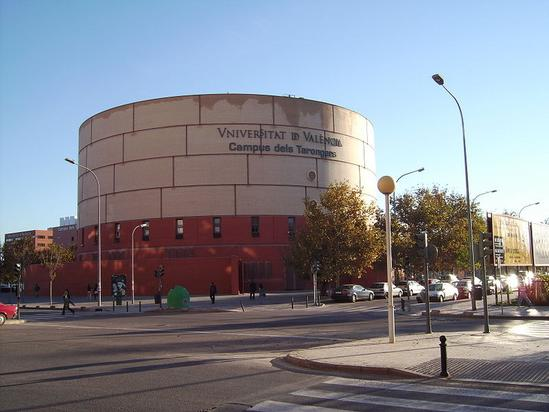 Universidad de Valencia. Campus dels Tarongers.