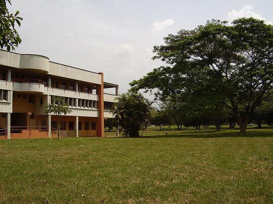 Universidad del Valle, edificio de la escuela de musica.