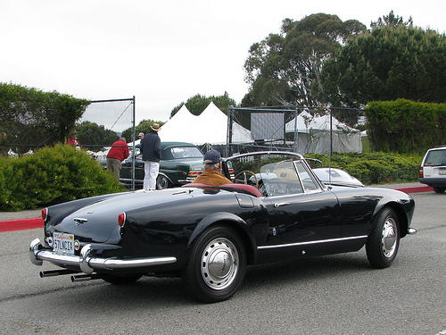 Lancia Aurelia Spider Fabricado en 1957