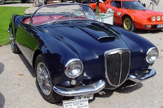 Ficha Técnica del Lancia Aurelia Spider, ensamblado en 1957