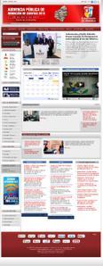 Vista sitio oficial www.atlantico.gov.co