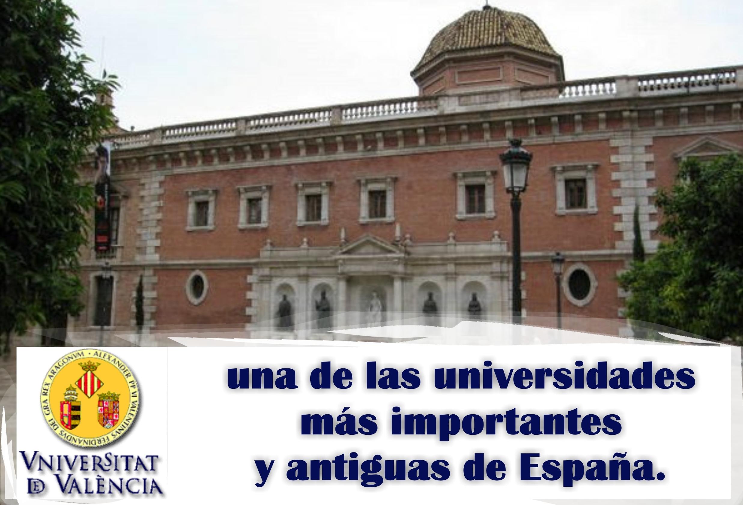 Universidad de Valencia, más de 500 años enseñando.