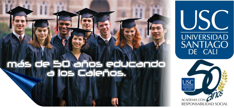 Universidad Santiago de Cali, más de 50 años educando a los Caleños.