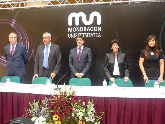 Apertura del curso 2009-2010 de la Universidad de Mondragon
