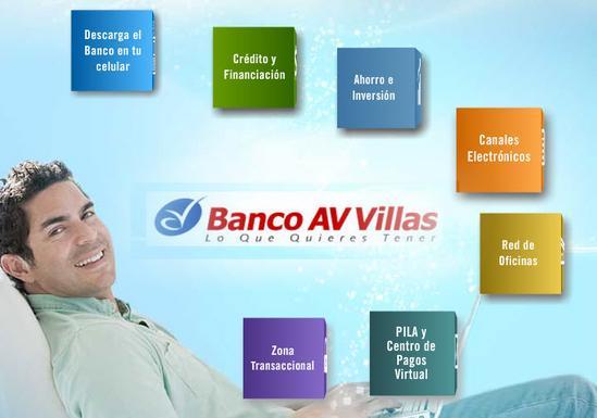 Banco AV Villas servicios
