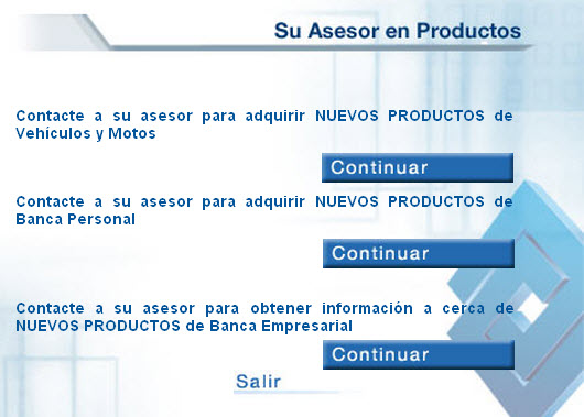 Banco de Occidente - Asesor en productos