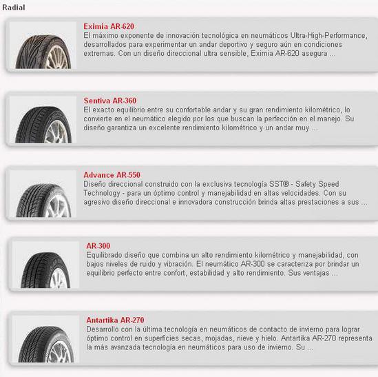 Llantas Fite Tires - Automovil