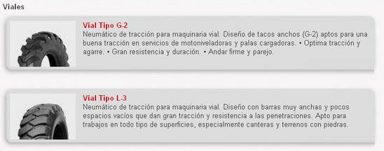 Llantas Fite Tires - Maquinaria Vial