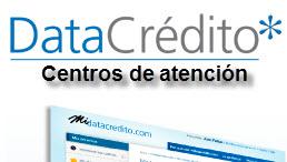 Oficinas o centros de Atención para consultar Datacredito en Colombia.