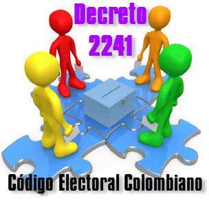 El Código Electoral Colombiano