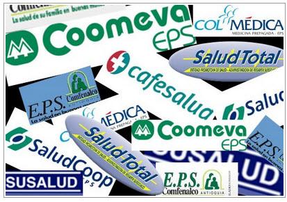 En colombia parte del sector privado maneja la salud