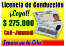 Licencia de conducción Cali