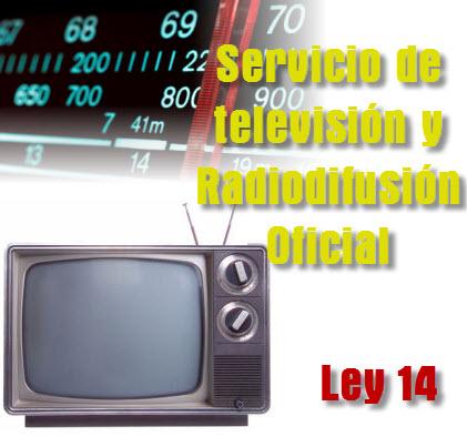 Ley General del Servicio de televisión y Radiodifusión Oficial
