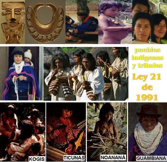 Ley 21 de 1991 en Colombia, convenio sobre pueblos indígenas y tribales en países independientes