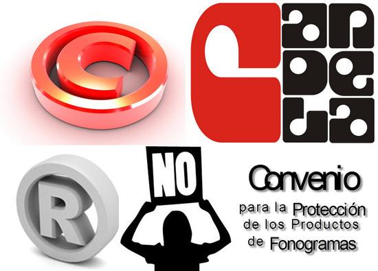Ley 23 de 1992 en Colombia, Convenio para la Protección de los Productos de Fonogramas