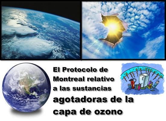 La Ley 29 de 1992 en Colombia, Protocolo de Montreal relativo a las sustancias agotadoras de la capa de ozono