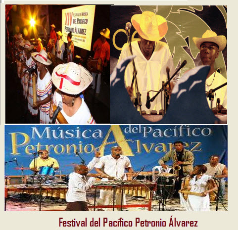 festival del pacifico Petronio Álvarez, epicentro Santiago de Cali