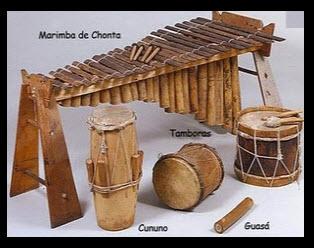 Festival petronio alvarez 2011,instrumentos del pacífico