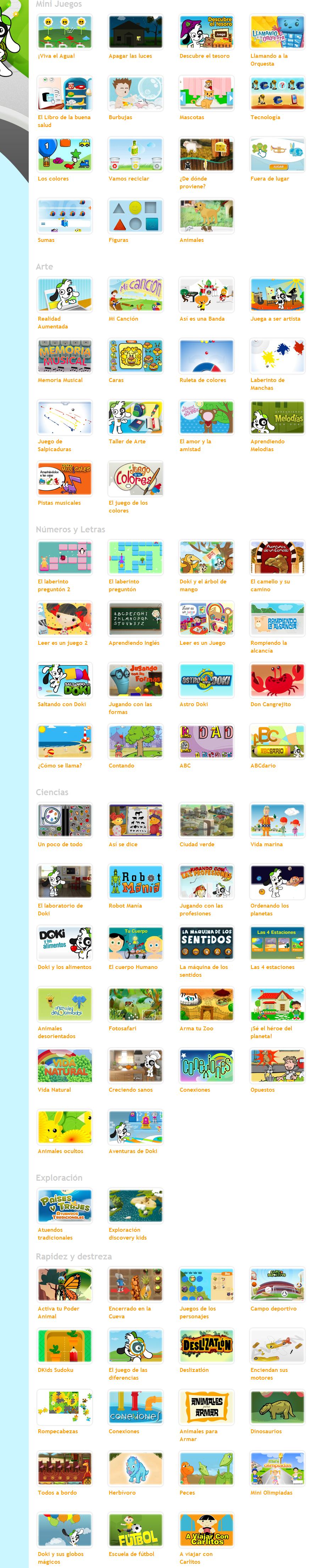 Juegos Tu Discovery Kids Precios Fichas Tecnicas Y Consulta De