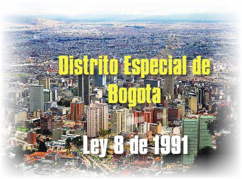 Ley General del Distrito Especial de Bogota
