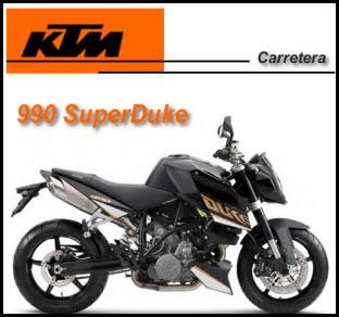 KTM 990 superduke 2011