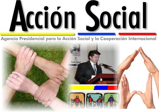 Acción Social y la Cooperación Internacional