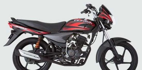 Auteco Platino 125 5  speed roja negra