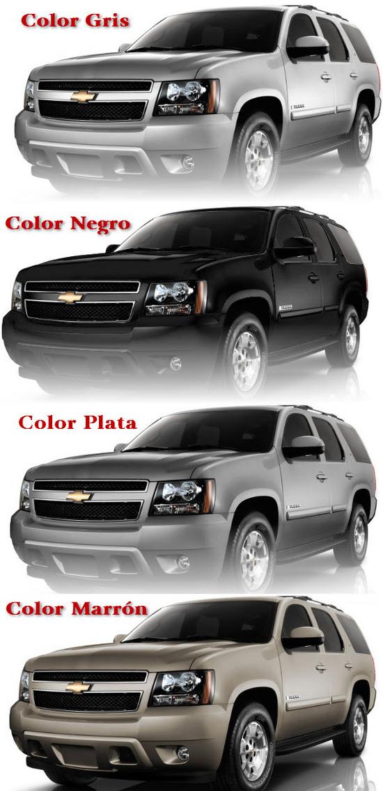 Colores del Chevrolet Tahoe 2011
