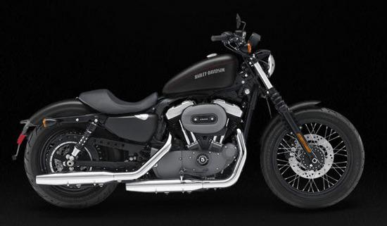 Harley Davidson Nightster, negro claro