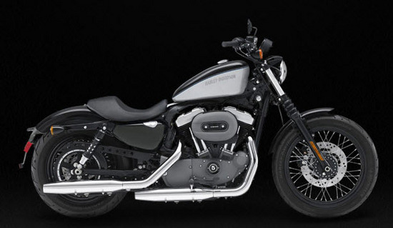 Harley Davidson Nightster, negro gris