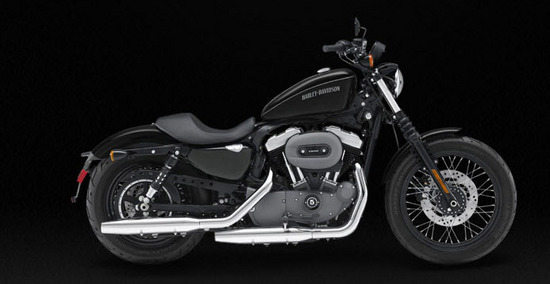 Harley Davidson Nightster, negro oscuro