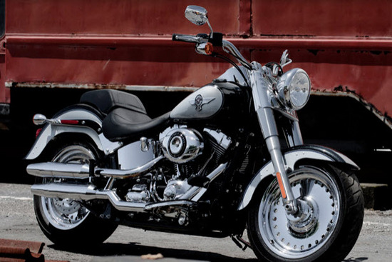 Harley Davidson Softail Fat Boy, admirala!