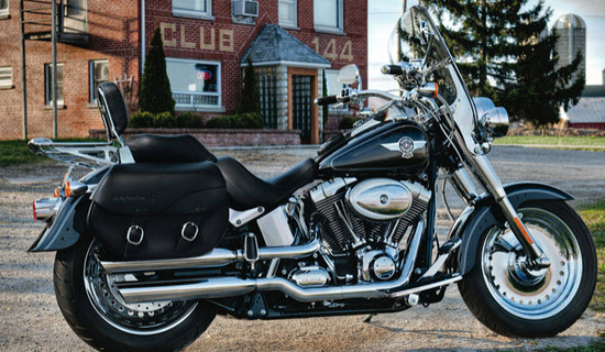 Harley Davidson Softail Fat Boy, excelente diseño