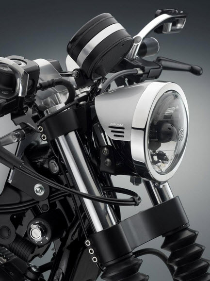 Harley Davidson Sportster XL 883 Low, detalle frontal
