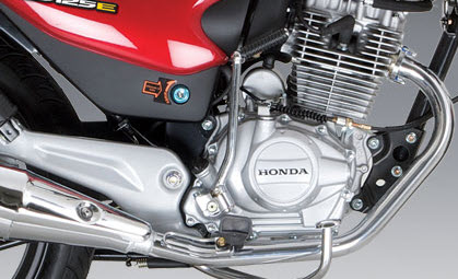 Honda CB 125 E, motor